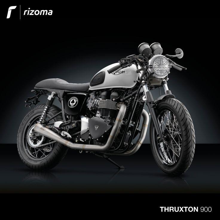 Rizoma Accessory Line for Triumph® Thruxton 900.