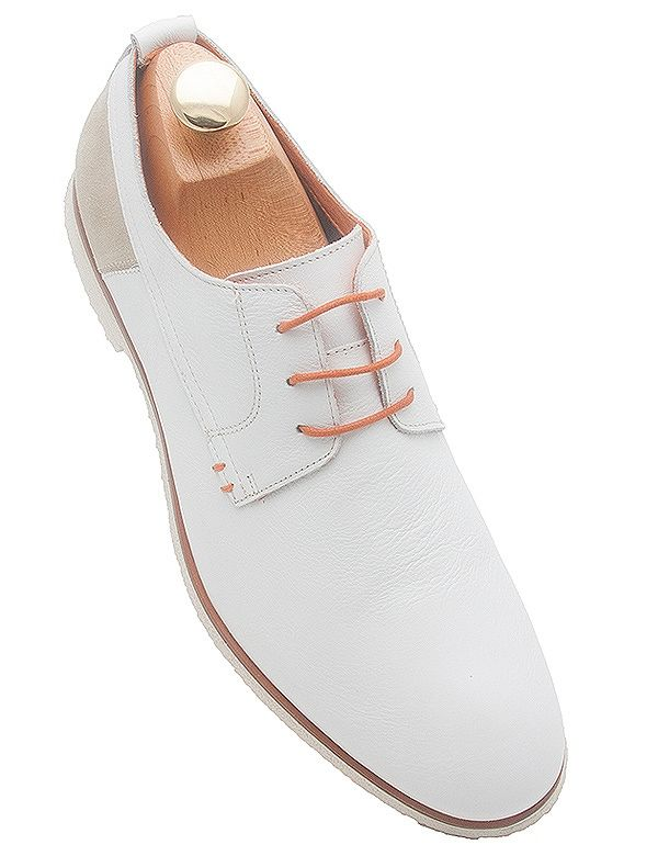Kenneth Cole WHITE Shoes for Men | Kenneth Cole Mens White Oxford Shoes from Kenneth Cole at Big Time ...