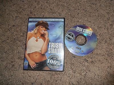 TRISH STRATUS 100% STRATUSFACTION GUARANTEED SPECIAL COLLECTOR'S EDITION wwe dvd