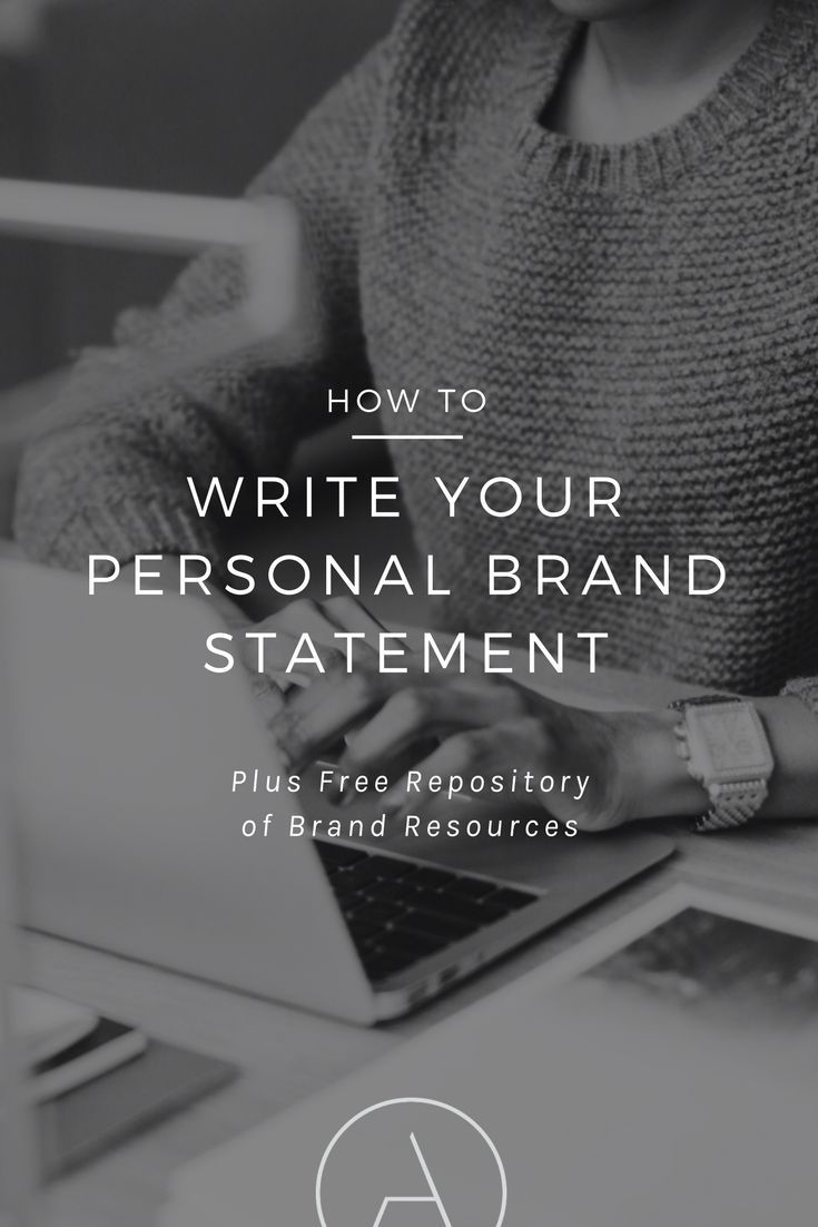 best 25  personal brand statement ideas on pinterest