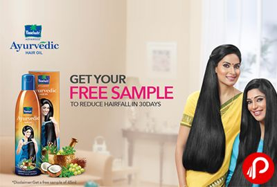 Parachute #FreekiDeal is offering Parachute Ayurvedic Hair Oil #FreeSample of 45ml. #GetyourFreeSample, to Reduce Hairfall in 30 Days.  http://www.paisebachaoindia.com/parachute-ayurvedic-hair-oil-free-sample-parachute/