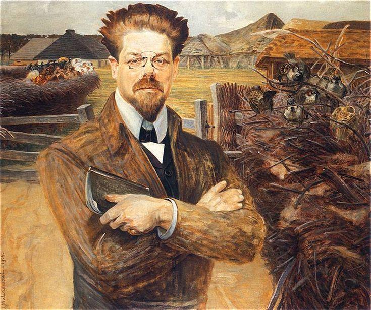 Jacek Malczewski - Portrait of Wladyslaw Reymont