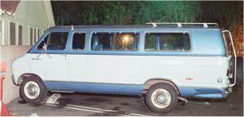 Grim Sleeper Dodge Van