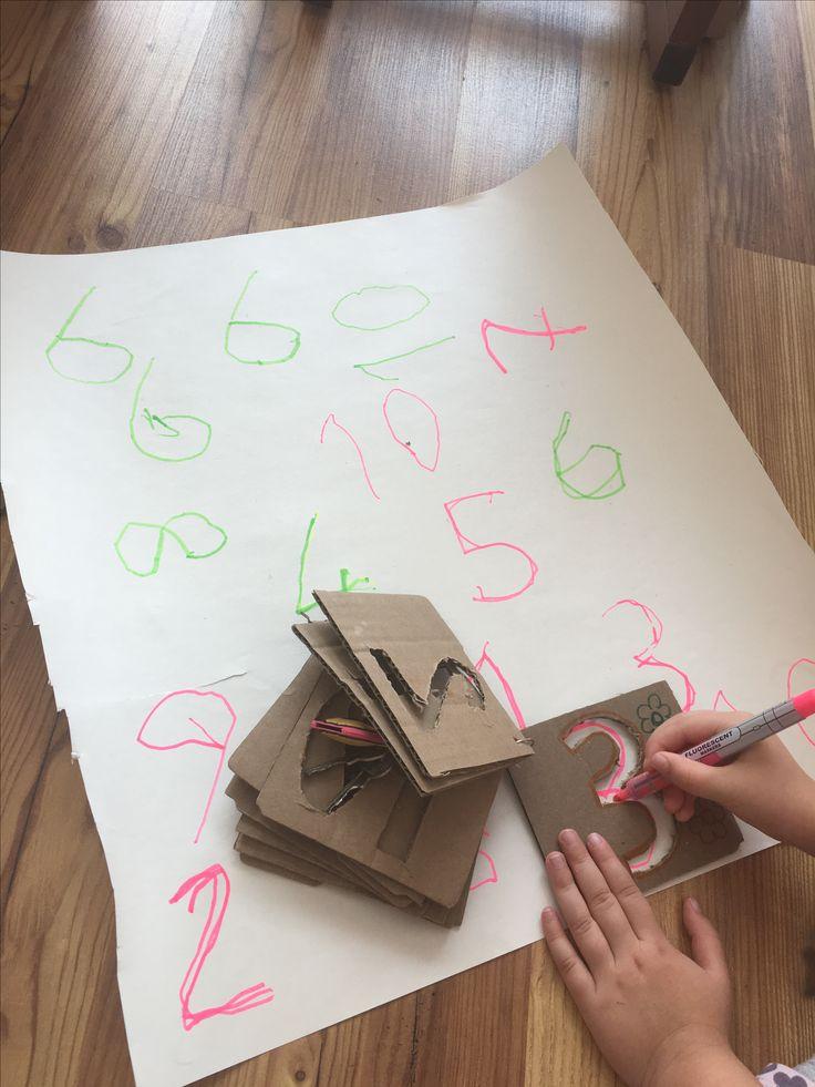Rakamları yazmayı öğreniyorum   Çiğdem öğretmen