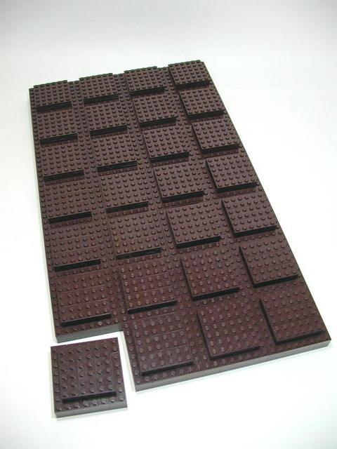 carré de chocolat!