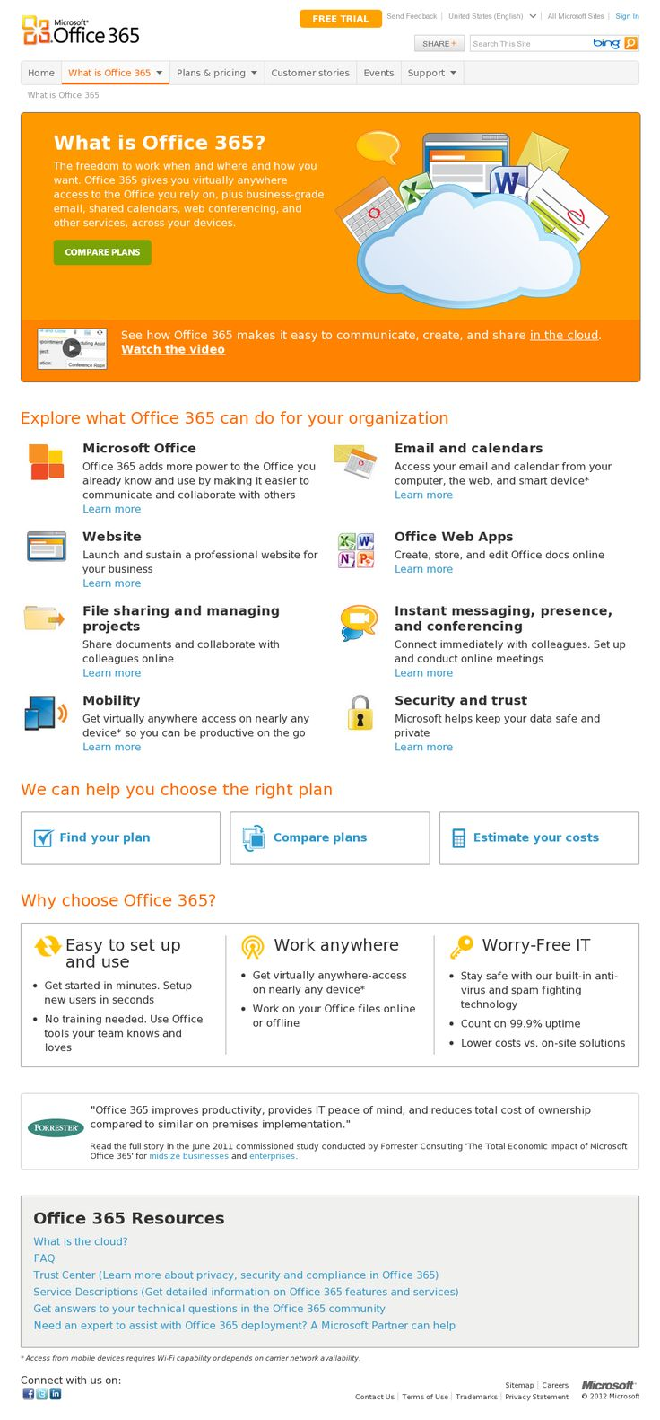 Microsoft Office 365 // the mobile version of office
