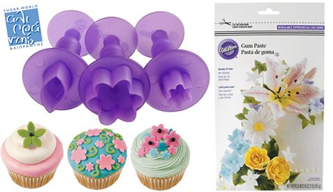 Διακοσμήστε τα cupcake και τις τούρτες σας με λουλούδια εύκολα και γρήγορα!