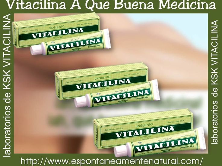 Vitacilina is used on insect bites, minor burns, scrapes, dry skin, diaper rash, burns caused by excessive sun exposure and some minor skin infections, such: as pimples and blackheads.