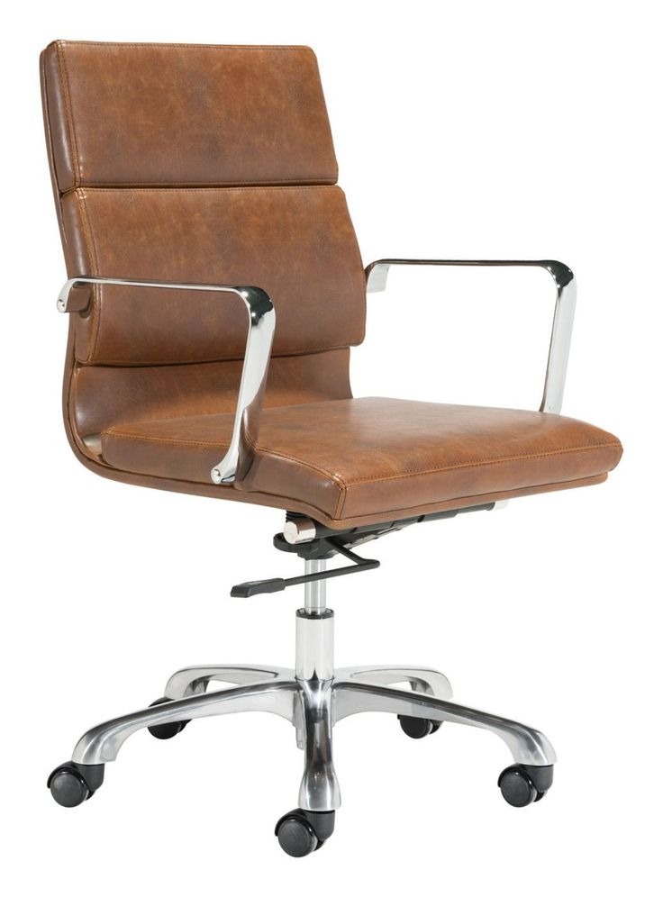 Zuo Modern Ithaca Office Chair Vintage Brown ZUO 100770. Only $377.80 At  Contemporary Furniture
