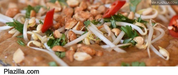 Recept Indische pindasoep soto katjang taugé - Tallsay.com