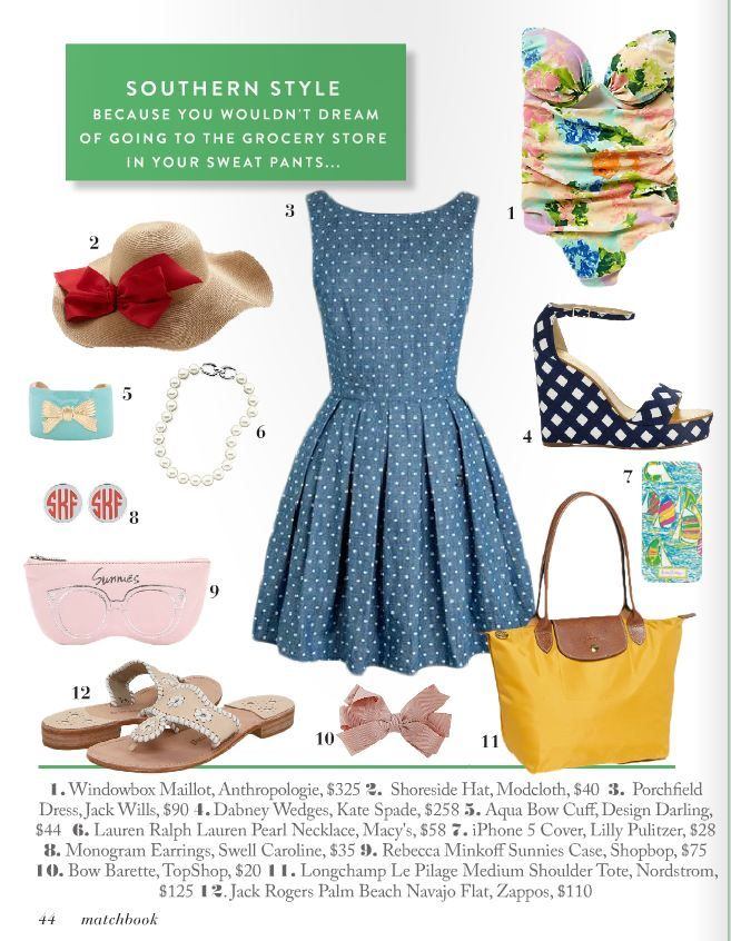 How to be a Southern Belle {Guide} via @Matchbook Magazine