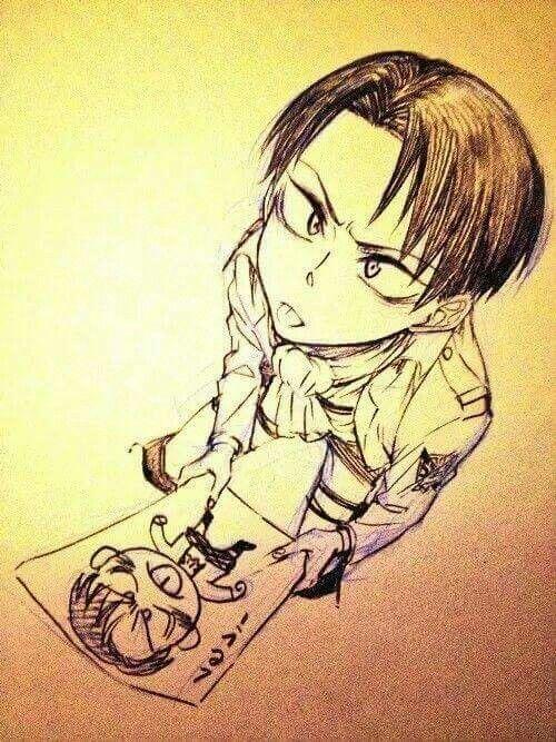 Levi so cute <3