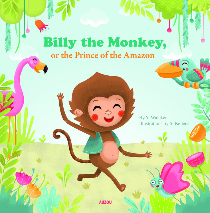 "The soft flexi-cover and charming pastel rainbow illustrations of ""Billy the Monkey, or the Prince of the Amazon"" make it especially appealing to young readers.  http://www.midwestbookreview.com/cbw/jan_15.htm"