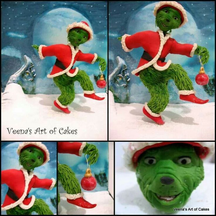 Christmas Wishes Cake Images : 81 best images about Fondant Cartoon, Comic and TV ...