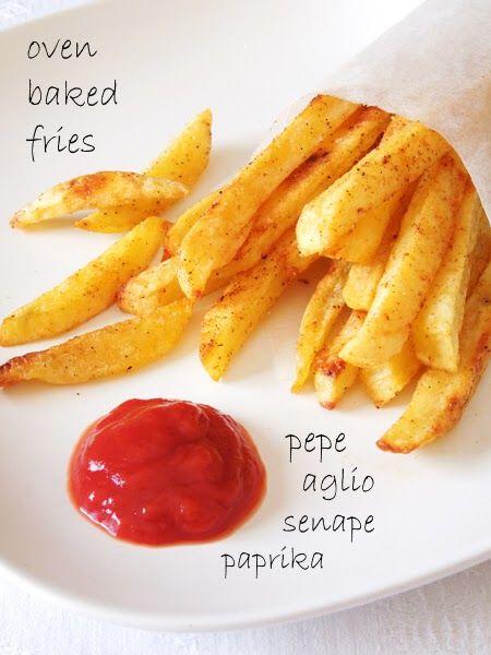 Ritroviamoci in Cucina: Patatine Speziate Senza Frittura (al forno)