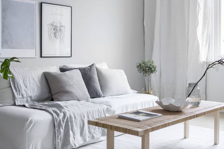 Cozy apartment decorated with Ikea products