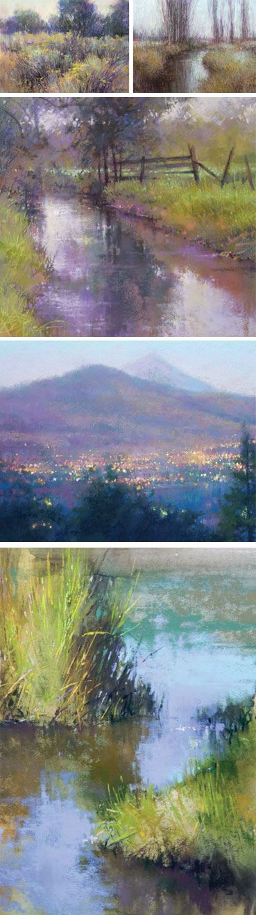 Discover the landscape paintings of Richard Mckinley Find instruction from him…