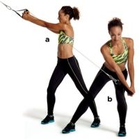 This 3-Move Cable Machine Workout Will Tone You All Over – Shonda Hill