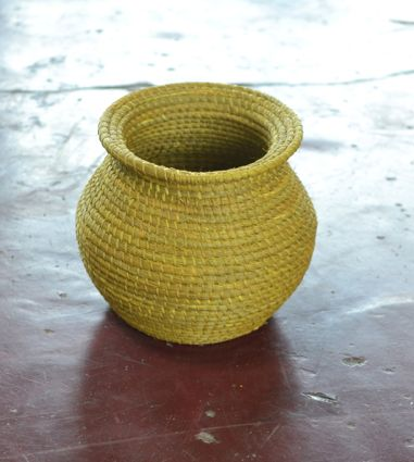 Moriche palm tree crafted by Amorúa artisans in Vichada, Colombia. #Mambe Shop www.mambe.org
