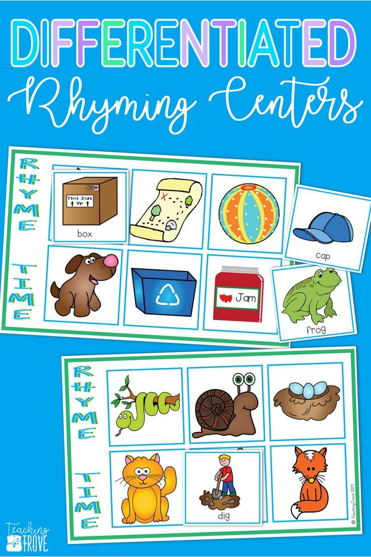 Rhyming Word Games | Rhyming Stuff | Pinterest | Rhyming games ...