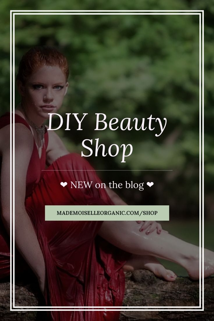 I'm so happy to announce that you can now buy all my DIY skincare courses, workshops and gift certificates directly on the blog!  Welcome to my new online boutique! There are a few more surprise products to come  What do you think of the new shop? Click through to check it out!