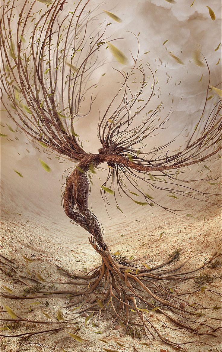 """""""The Dream of Flying"""" Concept art by Arthur Szygulski, Poland."""