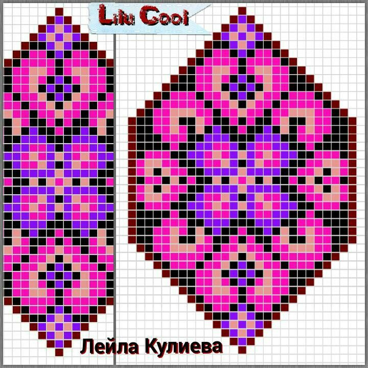 pattern / chart for cross stitch, alpha pattern, crochet, knitting, knotting, beading, weaving, pixel art, and other crafting projects.