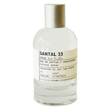 Santal 33, fragrance - Le Labo   MECCA
