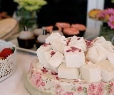 Rosewater and Champagne marshmallows by Thermomix in Australia