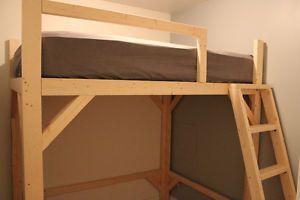 17 best ideas about mezzanine bed on pinterest mezzanine bedroom reading loft and small flats - Bed mezzanie kind ...