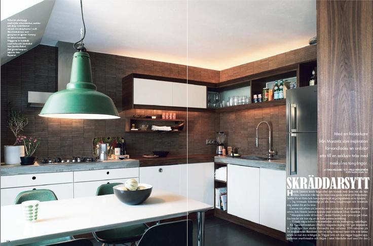 modern kitchen from Elle Interior Sweden