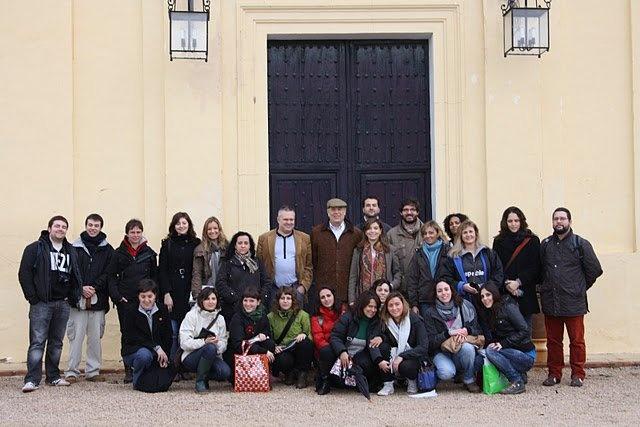 I promoción durante la visita que realizamos a la finca de Carlos Falcó,  Marqués de Griñón, con Yanet Acosta y José Luis Murcia. Año 2010