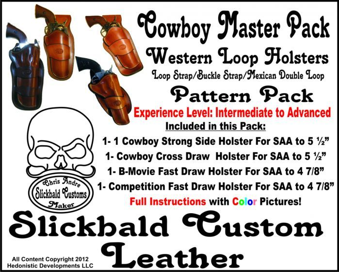 Maker's Leather Supply Cowboy Holster Master Pack
