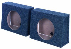 """2) Q-POWER QTW12 Single 12"""" Sealed Car Audio Subwoofer Sub Box Enclosures Pair by Q-POWER. $34.99. These TWO QPOWER QTW12 Single 12"""" Sealed Car Audio Subwoofer Box Enclosures feature solid 5/8"""" MDF construction, charcoal carpet covering, terminal cup connectors, 0.9 cubic feet of air space per Box, and a mounting depth of 6-inches. Turn your ride into a sound machine with the help of the QPOWER QTW12 Single 12"""" Sealed Car Audio Subwoofer Sub Box Enclosures!"""
