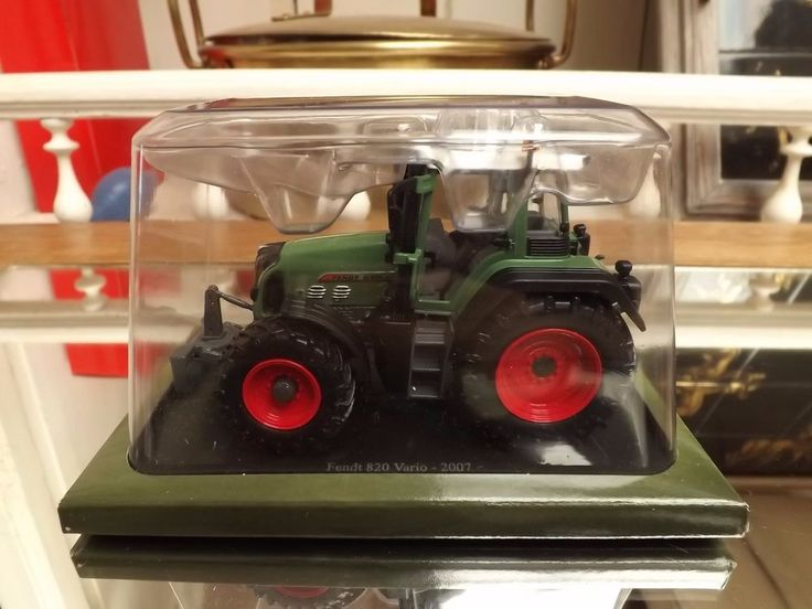 tracteur fendt 820 vario 2007 hachette collection