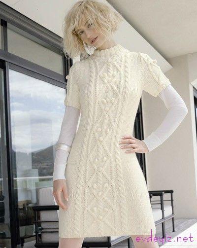 Örgü Tunik Modelleri | Ev Kadınlarının Yeni Yeri