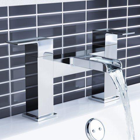 Niagra II Waterfall Bath Mixer Taps - soak.com