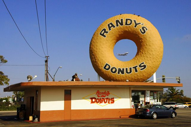 Randy's Donuts... on the way to or from LAX