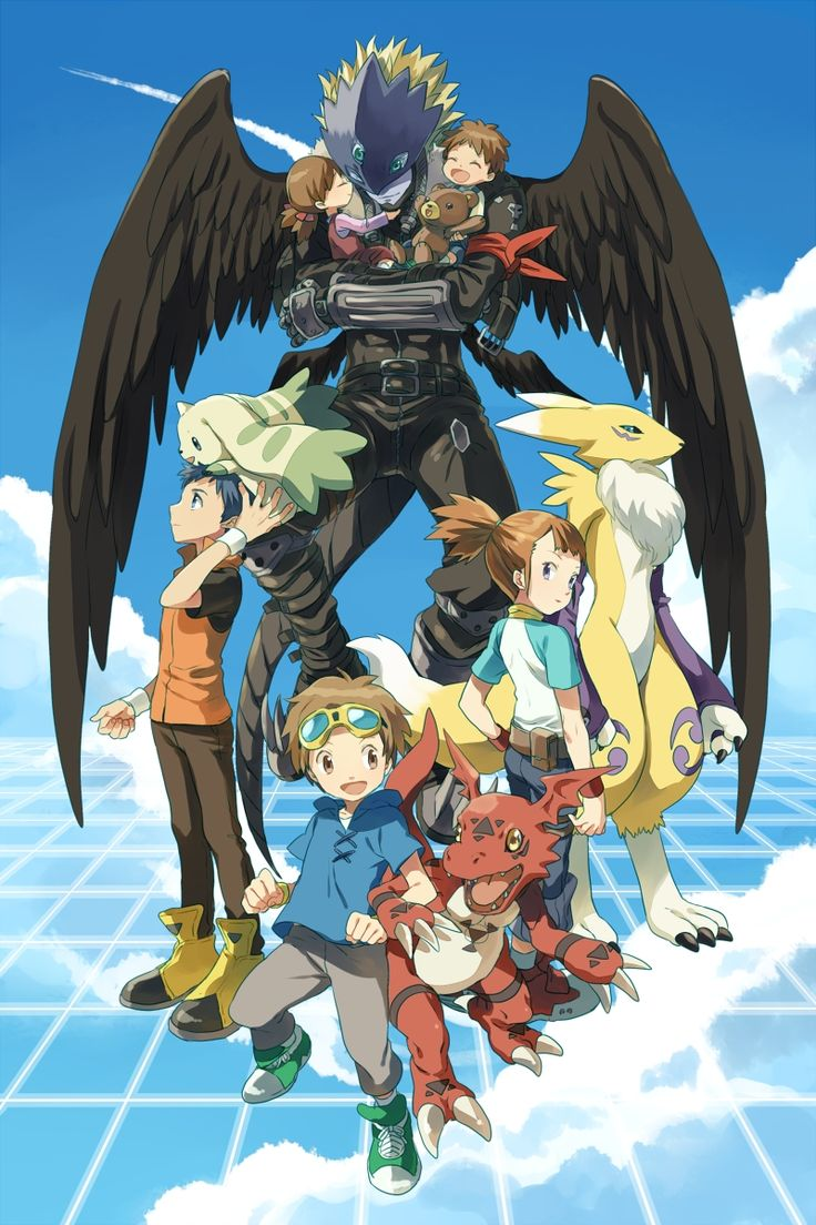 309 Best images about Digimon on Pinterest | Friendship ...