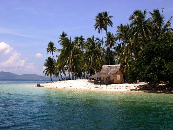 Tropical Island Beach Hut: Hut Located In Buhay Kubo, Pinagbuyatan Island, Palawan