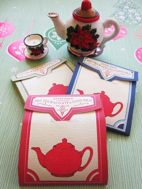 tea bag envelopes (free printable)