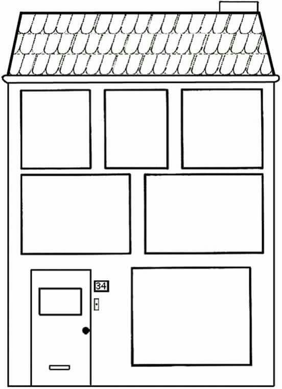 25 beste idee n over huis tekenen op pinterest familie for Poppenhuis voor peuters