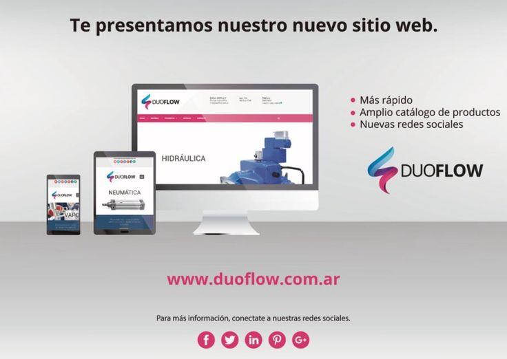 #nuevaweb #duoflow #somosduoflow #visitanos #neumatica #hidraulica #bombas #valvulas #compresores #buenosaires #argentina