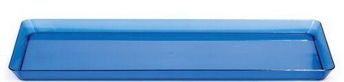 Creative Converting Rectangle Plastic Serving Tray, 15.5-Inch, Translucent Blue, http://www.amazon.com/dp/B00FPAJYXY/ref=cm_sw_r_pi_awdm_oOWbtb1DF0KFF