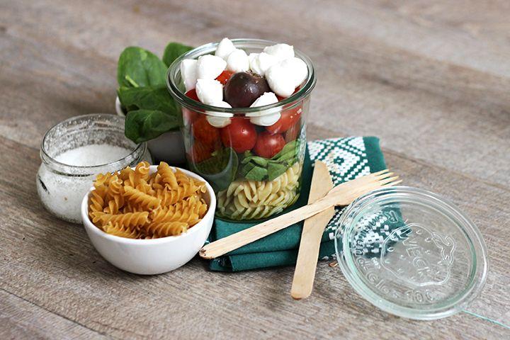 Blog Cuisine & DIY Bordeaux - Bonjour Darling - Anne-Laure: Salade à emporter pour le déjeuner