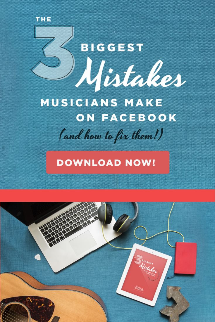 Most musicians make these 3 mistakes on Facebook, which actually COSTS them their fans. Written by Leah McHenry, founder of Savvy Musician Academy, mother of 5, and 6-figure music business earner.