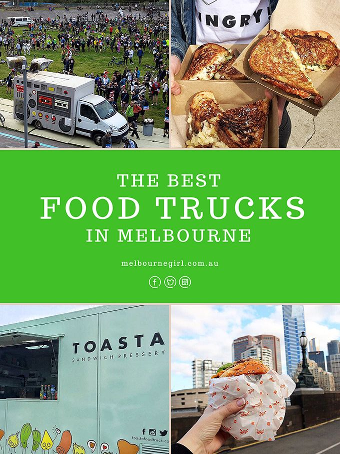 The best Food Trucks in Melbourne