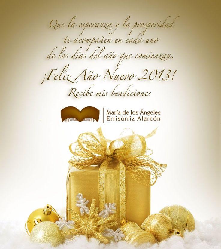 Que este año que hoy inicia esté lleno de bendiciones para cada una de sus familias. Feliz 2013.