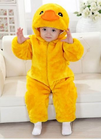 $27 Baby duck onesie! Cute duckling costume for your little tots!
