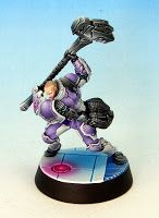 Tom Schadle Miniatures: Infinity - Steel Phalanx: Ajax the Great